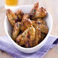 Recept voor heerlijke kippenvleugeltjes.