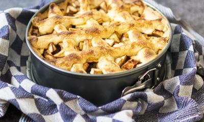 Recept voor de klassieke appeltaart van grootmoeder