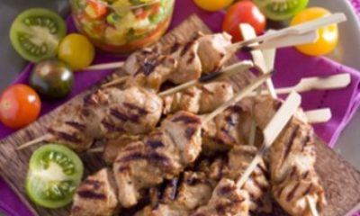 Lekker buiten koken op de barbecue