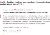 Vriendin 30: Saskia's dochter overwon haar depressie dankzij een speciaal zomerkamp