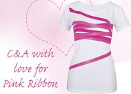 Speciale Pink Ribbon collectie bij C&A