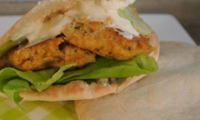 Recept voor een vegetarisch broodje falafel