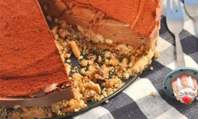 Recept voor Nutella cheesecake