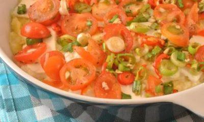 Recept voor pittige aardappelschotel met feta
