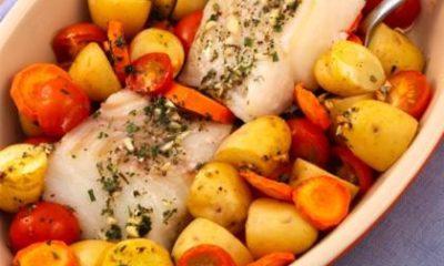 Recept voor Mediterraanse kabeljauw uit de oven