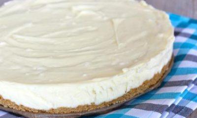 Recept voor cheesecake met witte chocolade