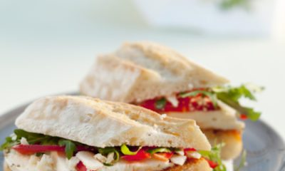 Recept voor ciabatta met mozzarella en paprika