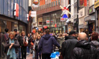 Eenzame shoppers