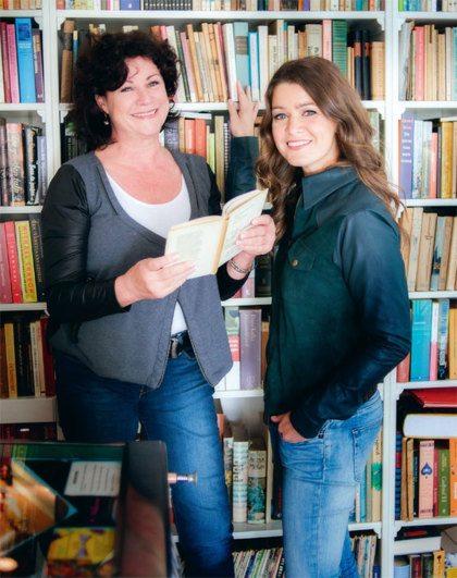 Marjan van den Berg en Merel Westrik over elkaar en hun werk