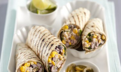 Recept voor Mexicaanse tonijnwraps