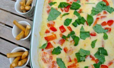 Recept voor mozzarelladip