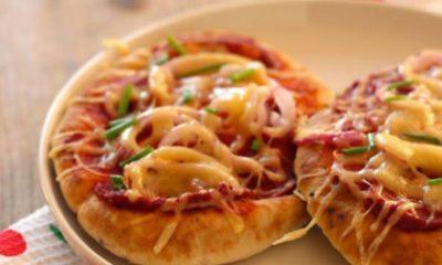 Recept voor pizza-naanbroodjes