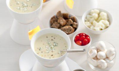 Recept voor kaasfondue met blauwe kaas