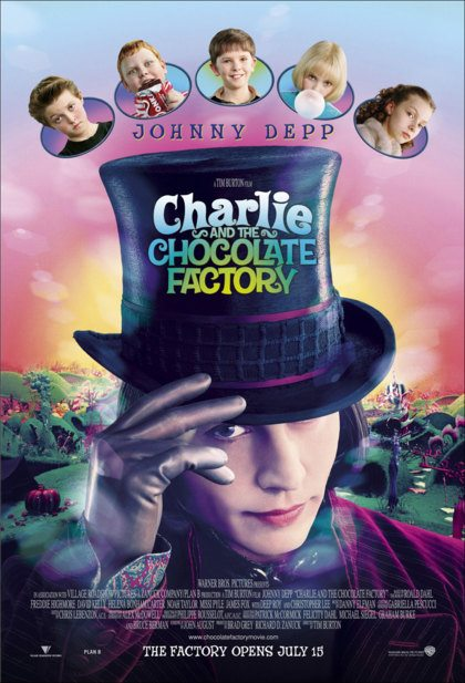 TV-tip: Charlie And The Chocolate Factory