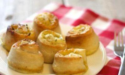Recept voor kaas-ui-knoflookrolletjes