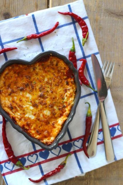 Recept voor lasagne met courgettebladen