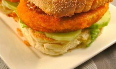 Recept voor broodje chicken saté