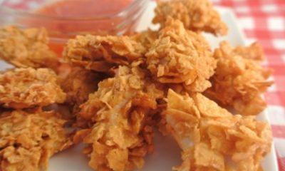Recept voor krokante kipnuggets uit de oven