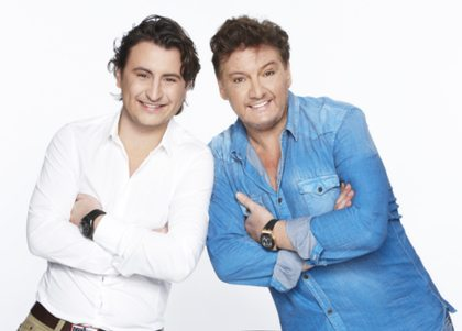 René en Danny Froger: zo vader, zo zoon, zo zanger