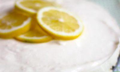 Recept voor citroenkwarktaart