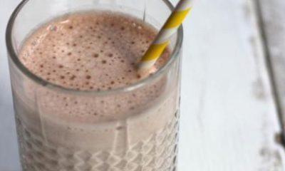 Recept voor een smoothie met banaan en cacao
