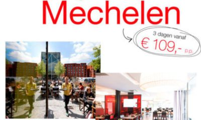 Werelds genieten in Mechelen