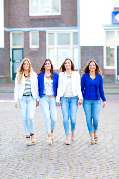 Vriendin 39: Lisa, Bo, Esmé en Tessa zijn hetzelfde, maar ook heel verschillend