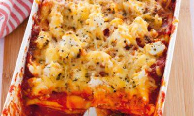 Recept voor paprikalasagne met ricotta