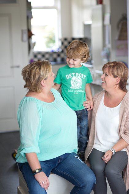 Vriendin 41: Sandra werd moeder door een eicel van haar zus