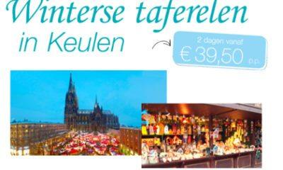 Winterse taferelen in Keulen