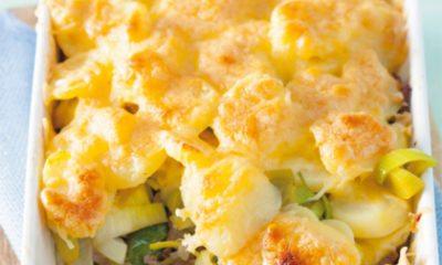Recept voor gehakt-preischotel met ananas