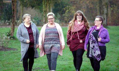 4 vriendinnen gaan de strijd aan
