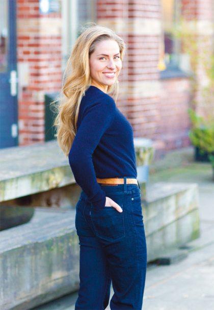Sanne Langelaar, hoofdrolspeelster in Dagboek van een callgirl