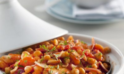 Recept voor kiptajine met kikkererwten en abrikozen