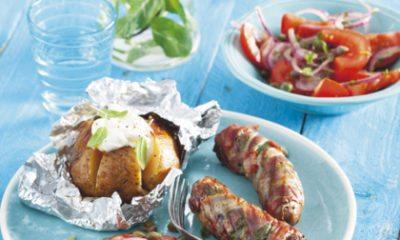 Recept voor barbecuesaucijsjes met salie & ham