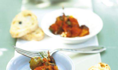 Recept voor caponata: gestoofde groentesalade