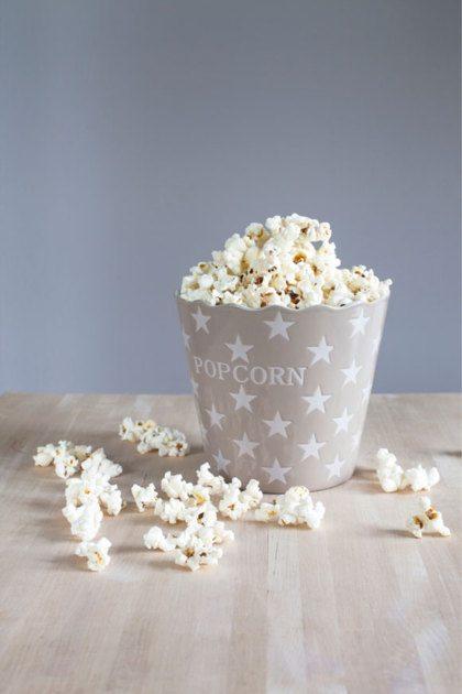 Zelf maken: popcorn bakje
