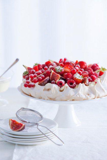 meringue met fruit recept