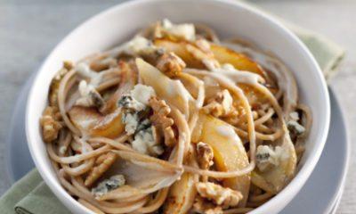 Recept voor spaghetti met lof & peer