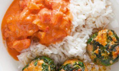 Recept voor Indiase kip-spinazieballetjes