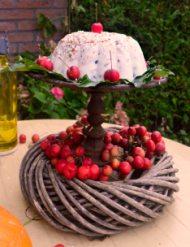 Bak een taart.. voor de vogels