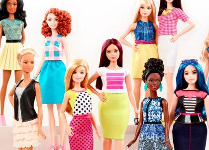 Barbie lanceert poppen met verschillende lichaamsvormen