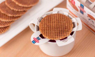 Heerlijk: je kopje thee als stroopwafel-oventje
