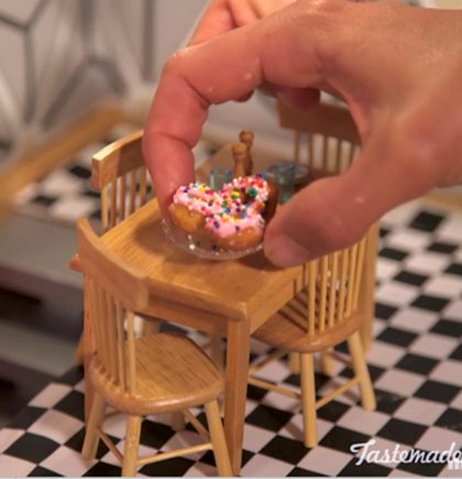 Zo schattig: mini donuts