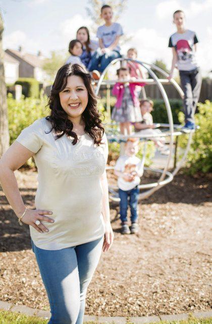 Vriendin 21: Nadine is zwanger van haar twaalfde kind