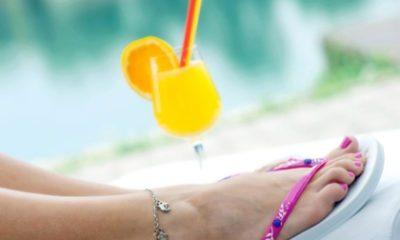 Verzorgde voeten in de zomer
