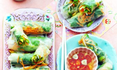 Video: zo vouw je springrolls