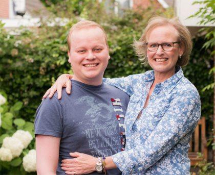 Vriendin 35: 'Er is nog geen stamceldonor gevonden voor mijn zoon'