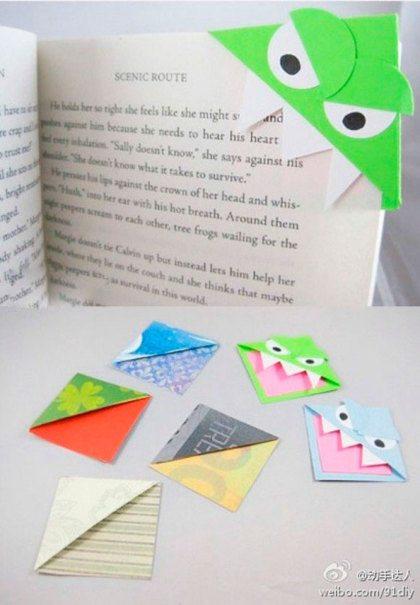 Maken: de leukste boekenleggers