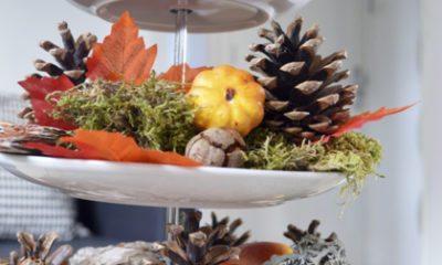 Maken: herfst etagère